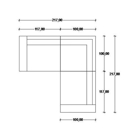 misura divano divani angolari misure