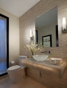 Houzz Bathroom Design by Beautiful Powder Room