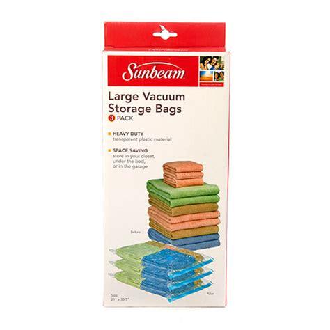 Trand Vakum Vacuum Storage Bag Isi 8 Free Pompa Tid520 home basics 3pc large size vacuum storage bags boscov s