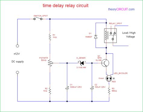 encapsulated timer relay function delay status