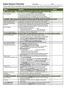 Student Intake Form Template by Welcome Pack Toolkit Coaching Tools From The Coaching