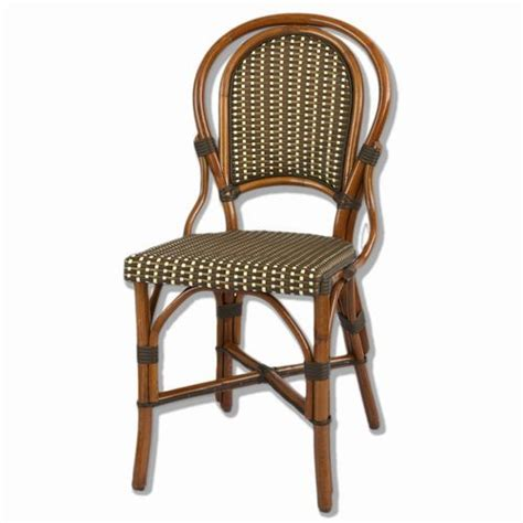 Woven Bistro Chairs Marais Rattan Bistro Chair Home