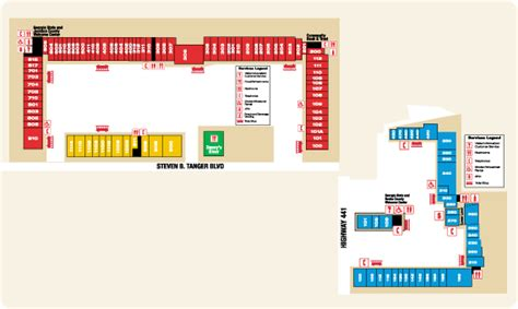 Kitchen Store Tanger Outlet Commerce Ga Map For Tanger Outlet Of Commerce Ga Map Commerce Ga 30529