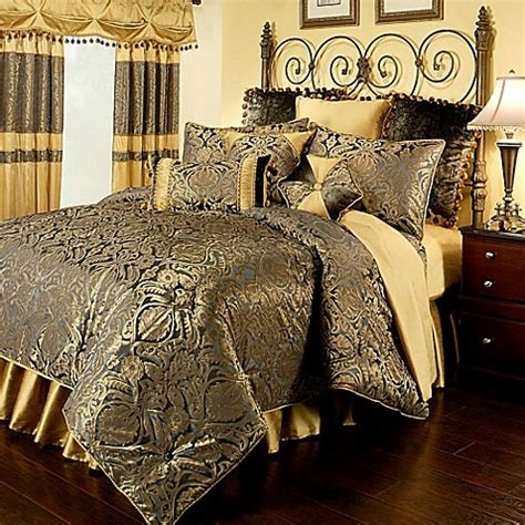 austin horn classics fountain comforter set in charcoal