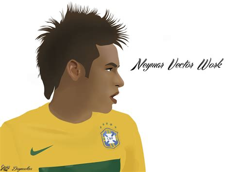wallpaper neymar cartoon neymar vector work by daywoolker on deviantart