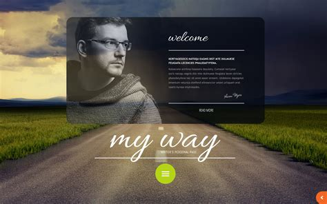Personal Website Ideas Best Website Templates For Writers