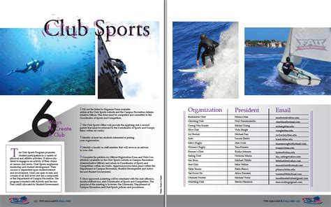 layout magazine sport layout by joey evans at coroflot com