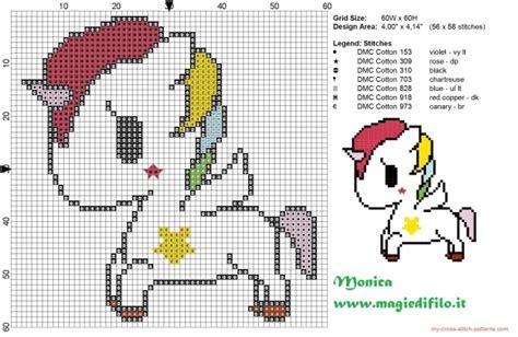 free printable unicorn cross stitch patterns tokidoki s unicorn cross stitch pattern free cross