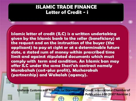 Musharakah Letter Of Credit islamic banking instruments in apllying of letter of