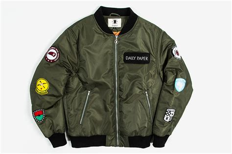 Jaket Bomber Pria Patch Jaket Bomber 8 daily paper patch bomber what drops now