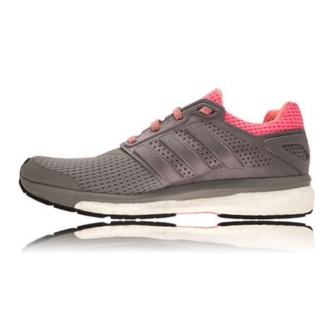 Adidas Glide Boost Premium Snakers Casual adidas supernova boost glide 7 womens pink grey sneakers shoes trainers ebay