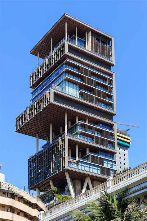 mukesh ambani house antilia building wikipedia
