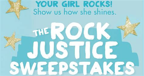Justice Store Gift Card - shopjustice com rockjusticesweeps rock justice sweepstakes