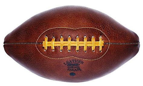 Handmade Leather Football - remodelista gift guide for the sports enthusiast remodelista