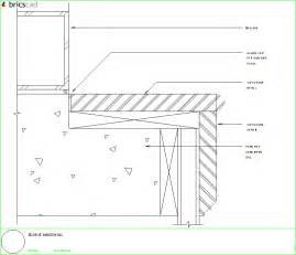 Corian Details Typical Window Sill And Facia Skirt Using 1 2 Or 3 4 Inch