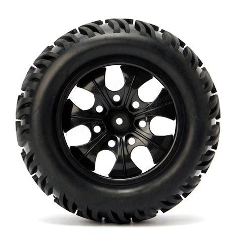 monster truck wheels videos 4pcs wheel rim tires hsp 1 10 monster truck rc car 12mm