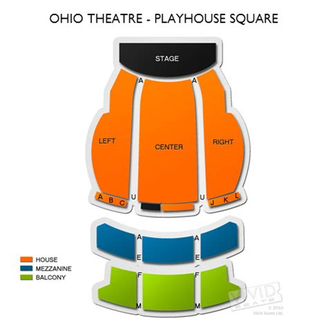 playhouse square seating ohio theatre playhouse square seating chart seats