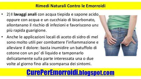 trattamento emorroidi interne emorroidi