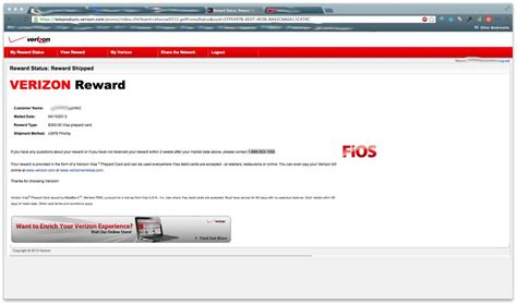 Verizon Fios Gift Card Tracking - 300 gift card status verizon fios community