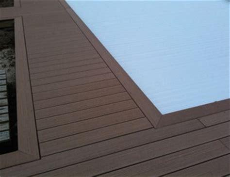 R 233 Aliser Un Entourage De Piscine En Bois Composite Mise En Finition Terrasse Composite