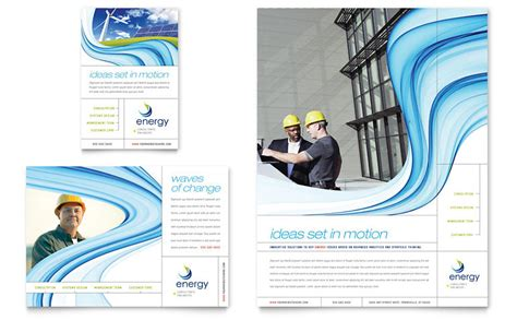 renewable energy consulting flyer ad template word