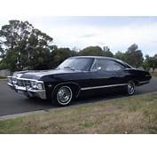 Black 1967 Chevy Impala Supernatural For Sale