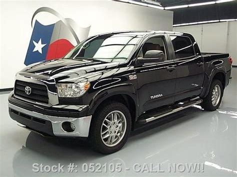 buy used 2008 toyota tundra xsp crew max leather 20 quot wheels 71k texas direct auto in stafford
