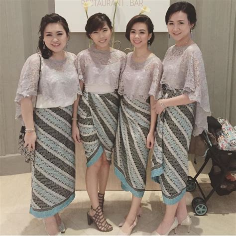Atasan Kebaya Lengan Pendek 17 model baju pesta brokat 2018 edisi gaun blouse