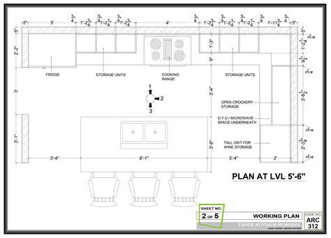 Kitchen design project designed by design arch tahoe kitchen