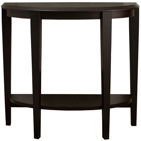 Accent Console Table Half Moon Accent Table In Accent Tables