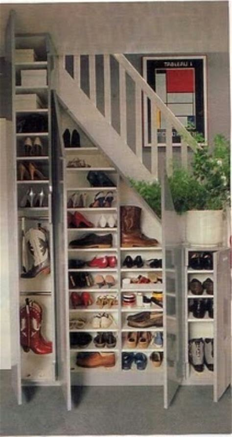 shoe storage for stairs shoe storage where you need it for the home