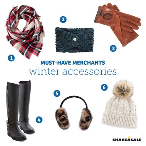 10 Must Winter Accessories by Must Merchants Winter Accessories Shareasale