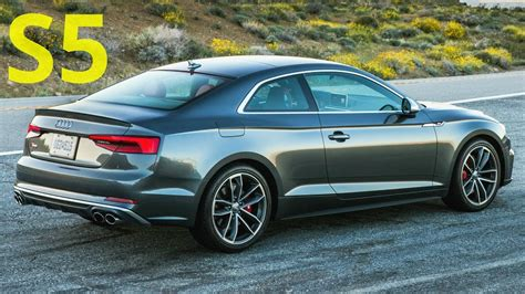 Audi S5 Coupe by 2018 Audi S5 Coupe Drive Interior And Exterior 354 Hp