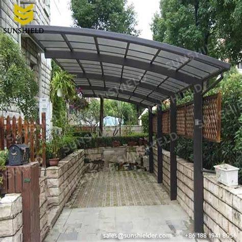 polycarbonate patio roof aluminum patio polycarbonate roof gate cover sunshield