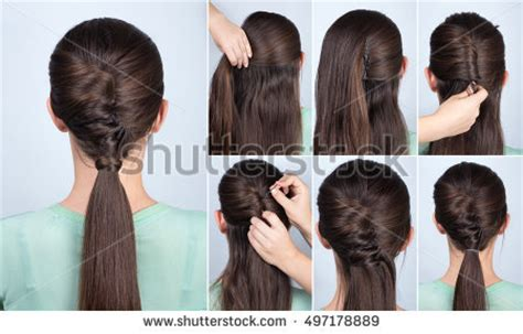mhaircuta to give an earthy style hairstyle stock images royalty free images vectors