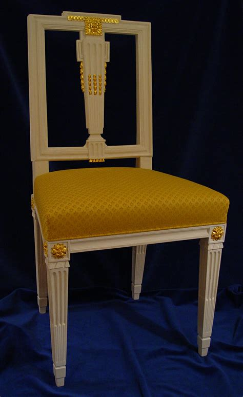 hellgelber stuhl antike m 246 bel kaufen