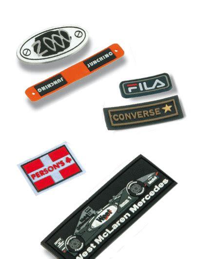 etiquetas adhesivas logo fabricantes de etiquetas y etiquetas de goma pvc blando para ropa