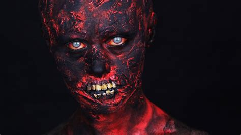 zombie tutorial youtube halloween barbecue zombie makeup tutorial youtube