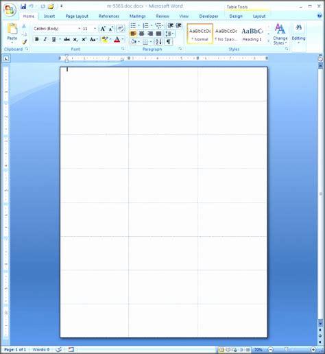 7 Microsoft Word Address Label Template 16 Per Sheet Sletemplatess Sletemplatess Microsoft Templates Labels
