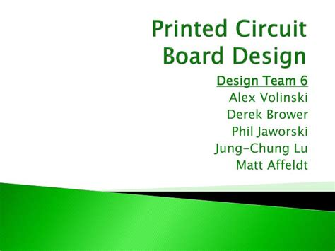 pcb layout design ppt ppt printed circuit board design powerpoint presentation