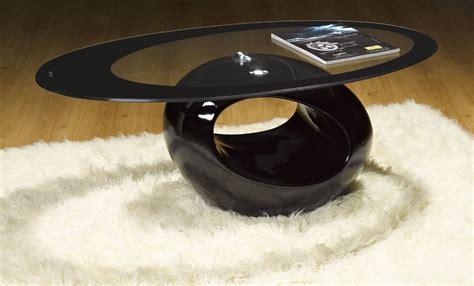 black oval coffee table decor your living room in style with oval coffee table