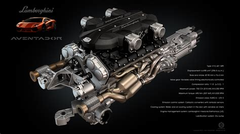 lamborghini aventador engine lamborghini aventador v12 engine by dangeruss on deviantart