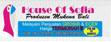 Harga Mukena Bali Alisa profile omah mukena bali santung 085 865 738 007