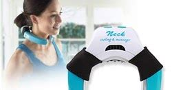 Kasur Angin Sidoarjo jual neck cooling massager therapy pillow bantal terapi