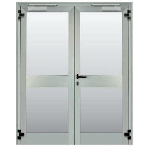 porta vetrata vendita porta vetrata tagliafuoco a due anta rei 60 rei