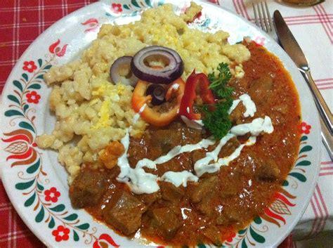cucina ungherese piatti tipici cosa mangiare a budapest piatti e dolci tipici