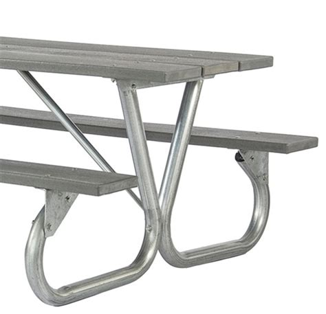 frame kit for 6 ft or 8 ft picnic table bolted 2 3 8