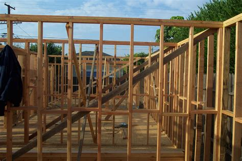 frame a house house framing and building hardware connection pictures