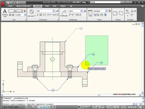 autocad tutorial youtube autocad tutorial using multileaders youtube