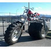 Moto Aux Grosses Roues  Images Dr&244les LOLtube